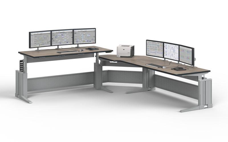 Bild für Nachricht Sitz-Steh-Arbeitsplätze Knürr-Elicon