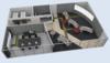 """Kontrollraum – unser Leistungsspektrum: 24/7-Konsolen, Monitorwände, Engineering-Konsolen, Supervisor-Konsolen,  Lage- und  Krisentische, Objektmöblierung, 19""""-Technik im Serverraum."""
